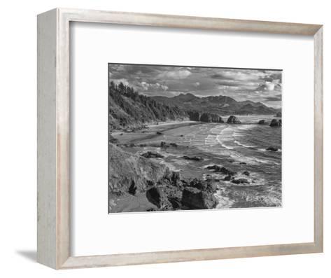 USA, Oregon, Coast Canon Beach-John Ford-Framed Art Print