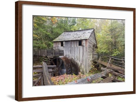 Tennessee, Great Smoky Mountains, Cades Cove, John P. Cable Grist Mill-Jamie & Judy Wild-Framed Art Print