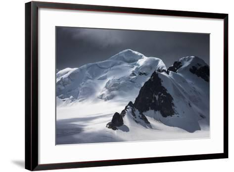 Antarctica, South Orkney Islands. Mountain and Glacier Landscape-Bill Young-Framed Art Print