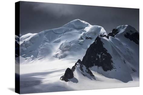 Antarctica, South Orkney Islands. Mountain and Glacier Landscape-Bill Young-Stretched Canvas Print