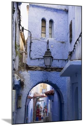 Chefchaouen, Morocco. Narrow Alleyways and Stairways-Emily Wilson-Mounted Photographic Print