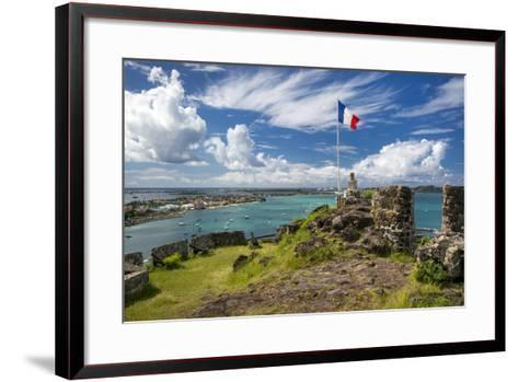 Fort Louis Overlooking Marigot Bay, Marigot, Saint Martin, West Indies-Brian Jannsen-Framed Art Print