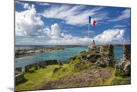Fort Louis Overlooking Marigot Bay, Marigot, Saint Martin, West Indies-Brian Jannsen-Mounted Photographic Print