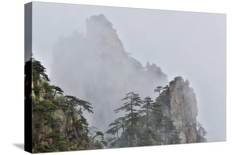 Yellow Mountains a UNESCO World Heritage Site-Darrell Gulin-Stretched Canvas Print