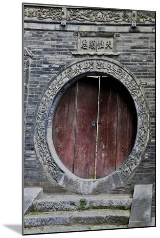 Doorway in Great Mosque Xi'an in the Muslim Quarter-Darrell Gulin-Mounted Photographic Print