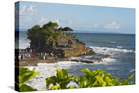 Tanah Lot. Bali Island, Indonesia-Keren Su-Stretched Canvas Print