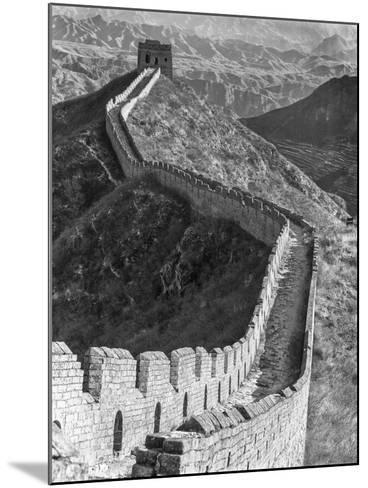 China, Great Wall-John Ford-Mounted Photographic Print