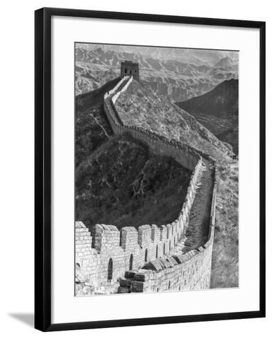 China, Great Wall-John Ford-Framed Art Print
