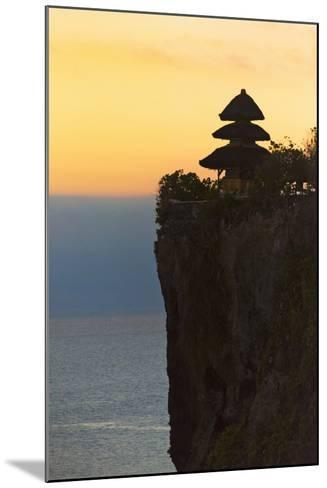 Uluwatu Temple on the Cliff, Bali Island, Indonesia-Keren Su-Mounted Photographic Print