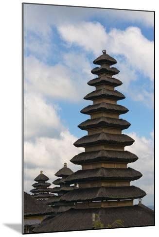 Mother Temple of Besakih, Bali, Indonesia-Keren Su-Mounted Photographic Print