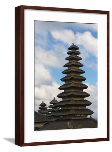 Mother Temple of Besakih, Bali, Indonesia-Keren Su-Framed Art Print