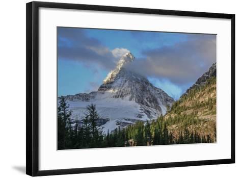 Mount Assiniboine Seen from Sunburst Lake-Howie Garber-Framed Art Print
