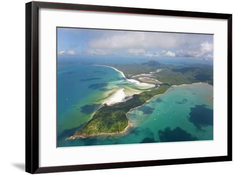 Hill Inlet Whitsunday Islands, Queensland, Australia-Peter Adams-Framed Art Print
