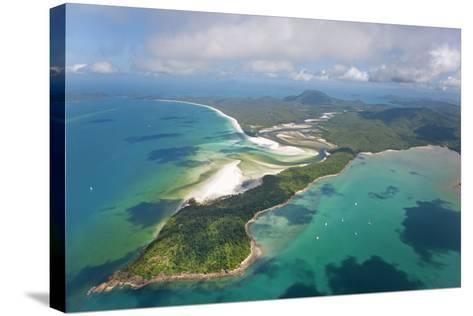 Hill Inlet Whitsunday Islands, Queensland, Australia-Peter Adams-Stretched Canvas Print