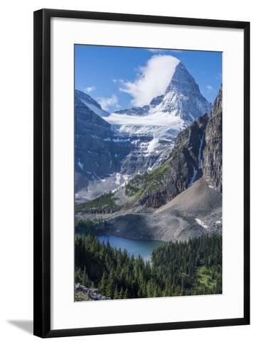 Mt. Assiniboine and Sunburst Lake as Seen from the Nublet-Howie Garber-Framed Art Print