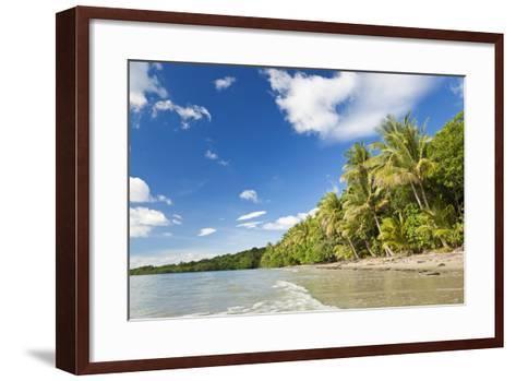 Beach, Cape Tribulation, Daintree National Park, Queensland, Australia-Peter Adams-Framed Art Print