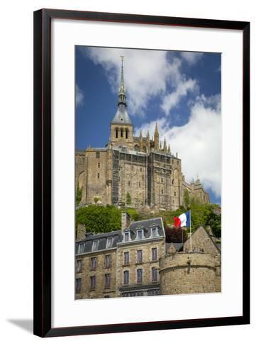 Mont Saint-Michel, Normandy, France-Brian Jannsen-Framed Art Print