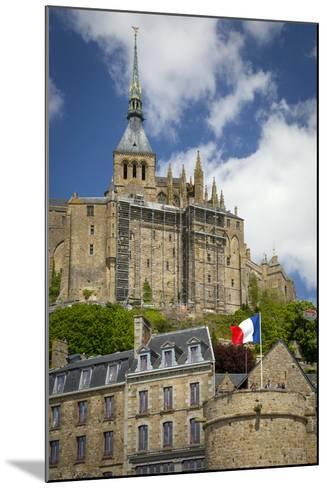 Mont Saint-Michel, Normandy, France-Brian Jannsen-Mounted Photographic Print