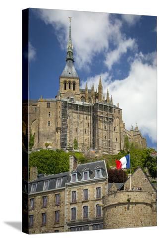 Mont Saint-Michel, Normandy, France-Brian Jannsen-Stretched Canvas Print