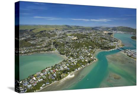 Pauatahanui Inlet, Porirua Harbour, Wellington Region, New Zealand-David Wall-Stretched Canvas Print