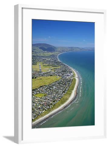 Paraparaumu Beach, Kapiti Coast, Wellington, North Island, New Zealand-David Wall-Framed Art Print