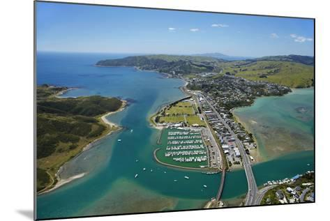 Mana Marina and Porirua Harbour, Wellington, North Island, New Zealand-David Wall-Mounted Photographic Print