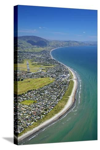 Paraparaumu Beach, Kapiti Coast, Wellington, North Island, New Zealand-David Wall-Stretched Canvas Print