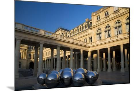 Early Morning in the Courtyard of Palais Royal, Paris, France-Brian Jannsen-Mounted Photographic Print