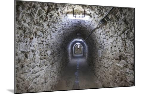 Romania, Transylvania, Turda, Turda Salt Mine, Interior Passageway-Walter Bibikow-Mounted Photographic Print