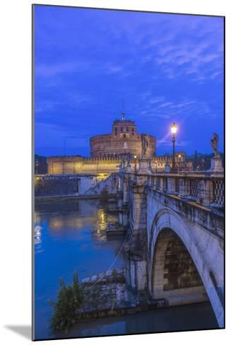 Italy, Rome, Ponte Sant'Angelo at Dawn, also Called St. Peters Bridge-Rob Tilley-Mounted Photographic Print
