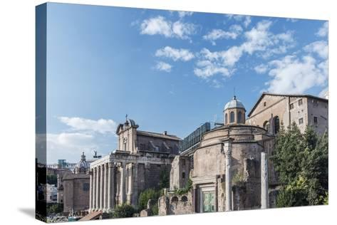 Europe, Italy, Rome, The Forum-Rob Tilley-Stretched Canvas Print