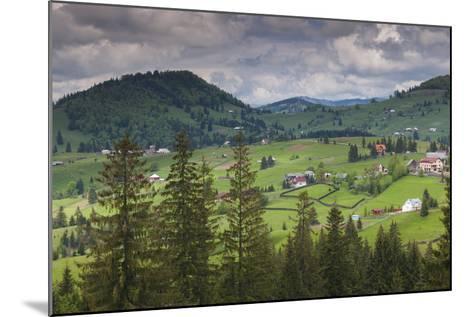 Romania, Transylvania, Tihuta Pass, Mountain Buildings of the Pass-Walter Bibikow-Mounted Photographic Print