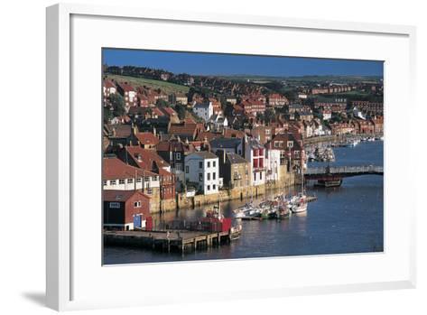 Whitby, North Yorkshire, UK-Peter Adams-Framed Art Print