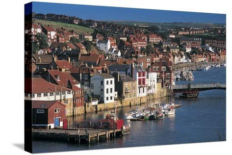 Whitby, North Yorkshire, UK-Peter Adams-Stretched Canvas Print