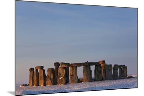 Stonehenge, Wiltshire, England-Peter Adams-Mounted Photographic Print