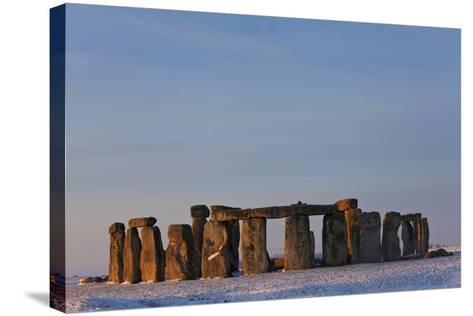 Stonehenge, Wiltshire, England-Peter Adams-Stretched Canvas Print