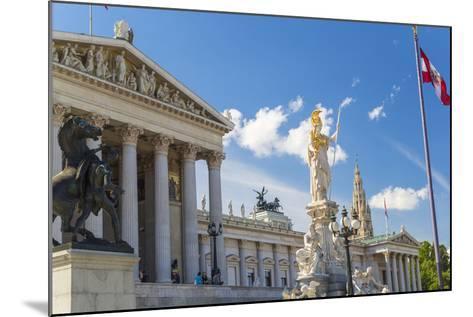 Parliament Building, Vienna, Austria-Peter Adams-Mounted Photographic Print