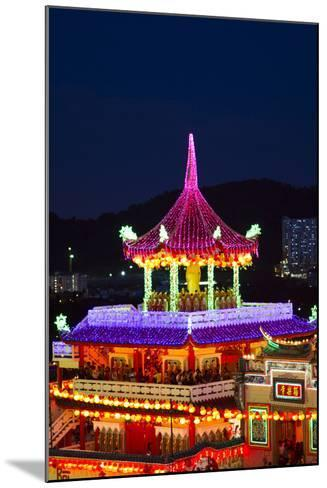 The Fantastic Lighting of Kek Lok Si Temple in Penang, Malaysia-Micah Wright-Mounted Photographic Print