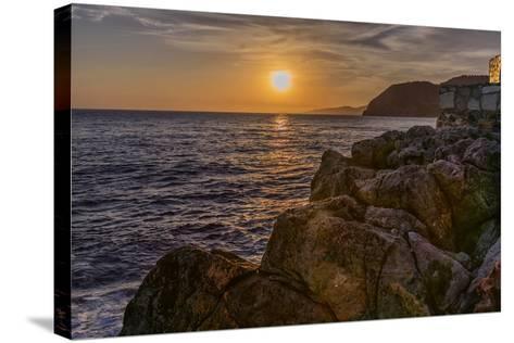 Europe, Spain, La Herradura Sunset-John Ford-Stretched Canvas Print