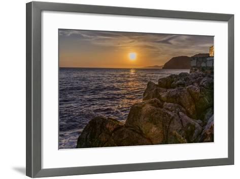 Europe, Spain, La Herradura Sunset-John Ford-Framed Art Print