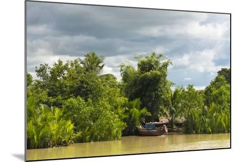 Scenery Along the Kaladan River, Rakhine State, Myanmar-Keren Su-Mounted Photographic Print