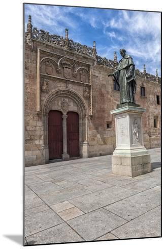 Spain, Salamanca, Frei Luis de Leon in Courtyard of the Clergy-Lisa S^ Engelbrecht-Mounted Photographic Print
