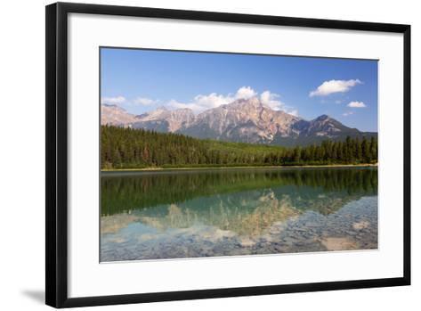 Canada, Alberta, Jasper NP, Pyramid Mountain and Patricia Lake-Jamie & Judy Wild-Framed Art Print