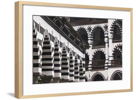 Bulgaria, Southern Mountains, Rila, Rila Monastery, Exterior-Walter Bibikow-Framed Art Print