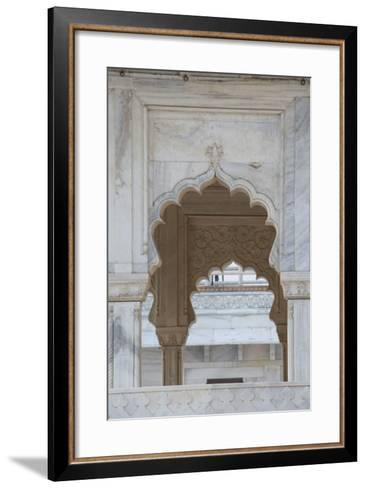 India, Agra. the Red Fort of Agra. Once the Seat of Mughal Power-Cindy Miller Hopkins-Framed Art Print