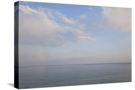 Sea and Skyscape, Rhodes, Greece-Peter Adams-Stretched Canvas Print