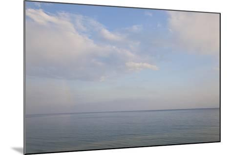 Sea and Skyscape, Rhodes, Greece-Peter Adams-Mounted Photographic Print