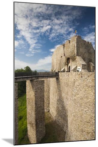 Romania, Moldavia, Targu Neamt, Neamt Citadel, 14th Century, Exterior-Walter Bibikow-Mounted Photographic Print