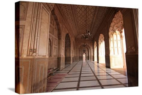 View from the Arch of Badshahi Masjid, Lahore, Pakistan-Yasir Nisar-Stretched Canvas Print