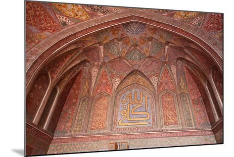 Masjid Wazir Khan, Lahore, Pakistan-Yasir Nisar-Mounted Photographic Print